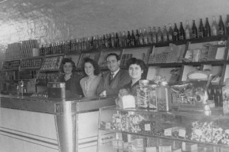 Saads Milk Bar Taree, 1950s