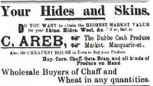 Areb Brothers Ad, Dubb c1904