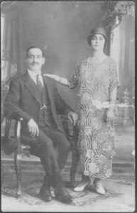 Harry Monsoor and wife