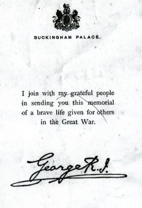Rizk Alexander note from George V (small res)