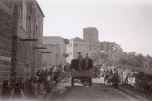 Australian Army Unit Driving Through Tripoli, 1941