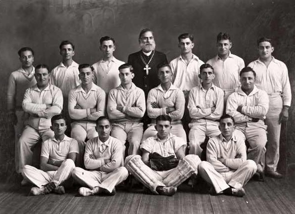 St Nicholas Cricket Team 1934: A Foot on each side of the fence, By Andrew Batrouney